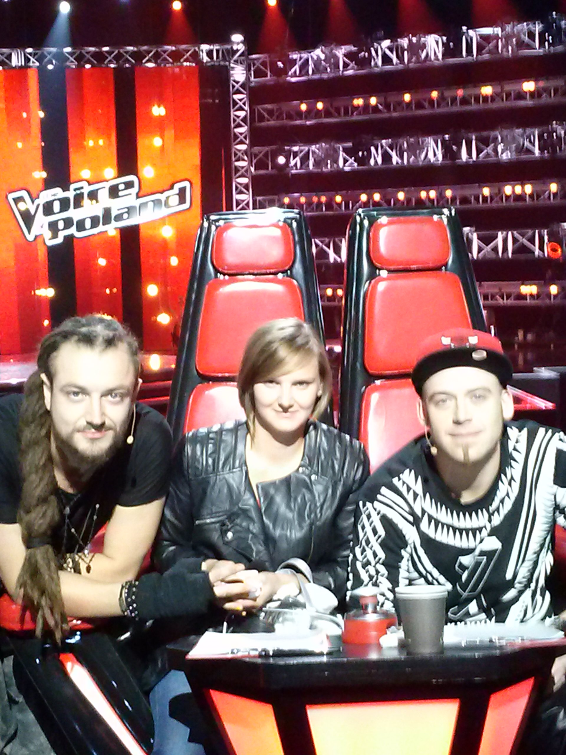 The Voice of Poland i trenerzy: Tomson i Baron z Afromental
